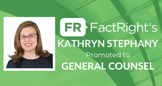 FactRight's Kathryn Stephany Promoted to General Counsel